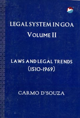 Legal system in goa vol ii