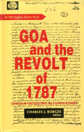 Goa and the revolt of 1787