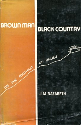 Brown man black country