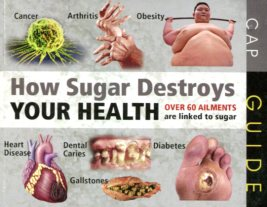 How sugar destroys yr health