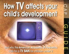 How tv affects yr child development