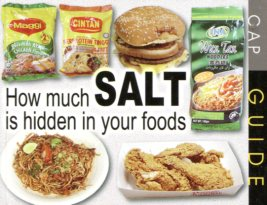 How much salt is hidden in yr food