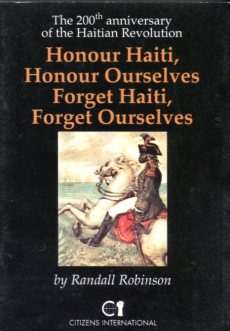 Honour haiti honour ourselves