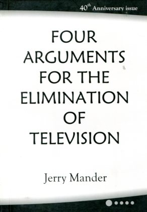 Four argument for elimination of tv